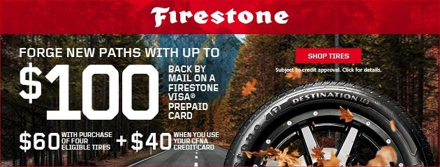 Firestone promotional ad